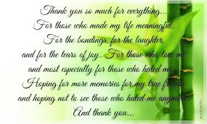 thank you so much for everything silver quotes