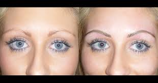 eyebrow tattoo feathering cosmetic