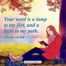 God's Word Is a Lamp to Our Feet and a Light to Our Path - Psalm 119:105
