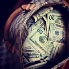 Image result for real money bags