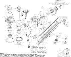 lz 1990 nail gun parts diagram free