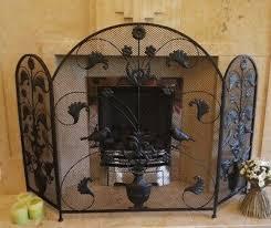 antique vintage fireplace fire guard