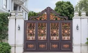 China Decorative Art Aluminum Wrought Iron Steel Metal Picket Ornamental Fence Photos Pictures Made In China Com