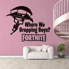 Boys Gaming Room Wall Decal Vinyl Sticker For Gaming Room Kids Room Nursery Wall Art