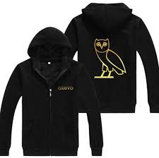 Drake Ovoxo Hoodie Zip Up Cardigan Ovo Gold Owl Gang Hoodie Tshirtnow