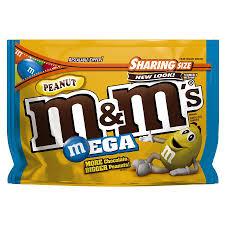 m m s mega peanut chocolate candy