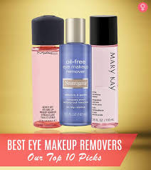 best eye makeup removers all the