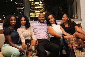 L-R): Michelle Parker, Tialer Maxwell, Leron Rogers, Neisha Butler and  Priscilla Carter | Sandra Rose