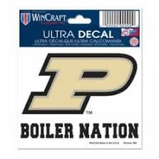 Purdue University Stickers Decals Bumper Stickers