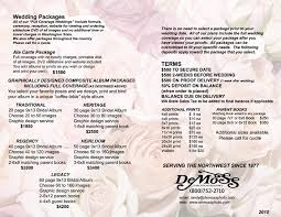 wedding planner packages and s