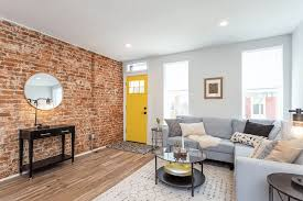 modern rehabbed rowhouse in point breeze