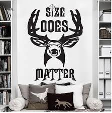 High Quality New Elk Deer Matter Hunting Antler Buck Wall Decal Sticker Vinyl Hunter Wall Sticker Art Mural Gift Kids Room Wy 30 Kids Room Wall Decals Stickerswall Sticker Aliexpress