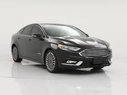 ford fusion hybrid with leather seats