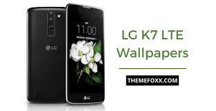 lg k7 lte stock wallpapers