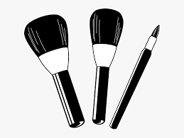 transpa background makeup brushes