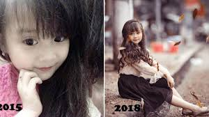 Phương Ly bé gái Tuyên Quang gây bão mạng năm 2015 giờ đã lột xác ...