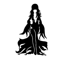 Elvira Mistress Of The Dark Vinyl Decal Vinyl Sticker Etsy