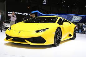 HD New Yellow Lamborghini Huracan 2015 HD Car Wallpaper | Download ...
