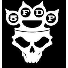Five Finger Death Punch Vinyl Decal Sticker Cars Trucks Vans Walls Laptops White 5 5 In Kcd591 Walmart Com Walmart Com
