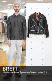 allsaints estae leather biker jacket