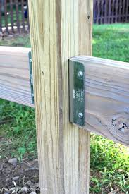 Simpson Strong Tie Fence Brackets Fence Planning Split Rail Fence Fence Post Installation