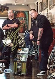 Rick Harrison Autographed Signed & Corey Harrison Pawn Stars ...
