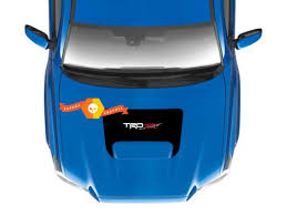Product Toyota Tacoma Trd Racing Development Pro Sport 4x4 Off Road Hood Scoop Vinyl Decal Graphics 2016 2017 2018 2019 2020