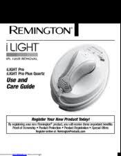 remington ilight pro use and care