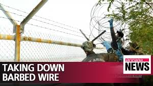 S Korea To Remove Now Defunct Barbed Wire And Military Facilities By 2021 Youtube