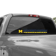 Michigan Wolverines Wincraft 2 X 17 Perfect Cut Decal
