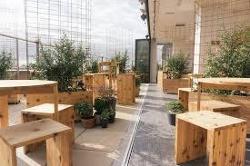 kimoto rooftop beer garden isometric