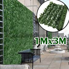 Ready 1 3m Artificial Faux Ivy Leaf Privacy Fence Screen Decor Panels Outdoor Hedge Shopee Philippines