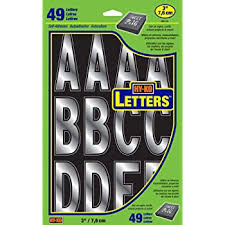 Amazon Com Duro Decal Adhesive Letters Black Permanent Arts Crafts Sewing