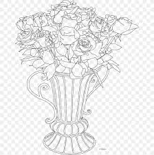 drawing flowerpot vase art sketch png