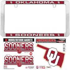 University Of Oklahoma Car Accessories Hitch Covers Oklahoma Sooners Auto Decals Shop Soonersports Com