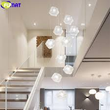 fumat ice cube glass spiral staircase