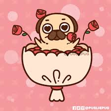 pugs cartoon wallpapers wallpaper cave