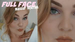 my flawless full face makeup step by