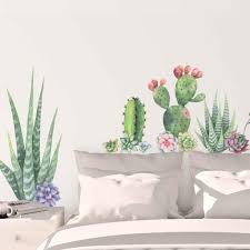 Picture Perfect Decals Succulents Wall Decals Cactus Wall Stickers