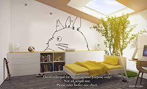 Room Decor Kids Furniture Decor Storage Anber Cute Totoro Wall Sticker Kids Bedroom Decor Japanese Cartoon Animation Wall Decals Wall Decor Room Decor