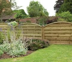 Forest Europa Domed 6 X 4 Ft Fence Panel Gardensite Co Uk