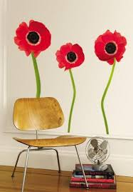 Red Poppies Wall Decal Allposters Com