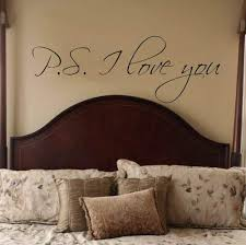 Amazon Com P S I Love You Vinyl Wall Decal Extra Large 15 X 42 Arts Crafts Sewing
