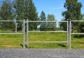 Gate For Electric Horse Fencings Stylish Horse Fencing Silber
