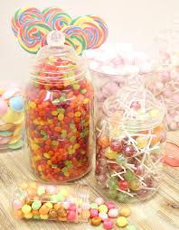 how to set up a candy buffet step by