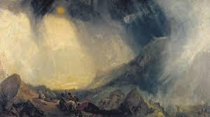 مجموعة لوحات فنية عتيقة أظهرت روعة الشتاء قديم ا
