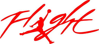 Amazon Com Flight Jordan Jumpman Logo Huge 23 Air Decal Sticker For Automobile Room Car Window Tablet Pc Computer Wall Laptop Notebook Ipad 5 5 Inches Red Kitchen Dining
