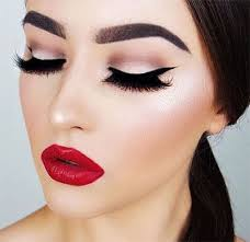 christmas themed makeup looks trends