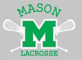 Mason Lacrosse Car Decal