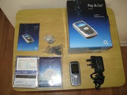 Boxed O2 X1B Pay AS You Go Mobile Phone ...